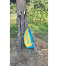 Backpack and poles tree