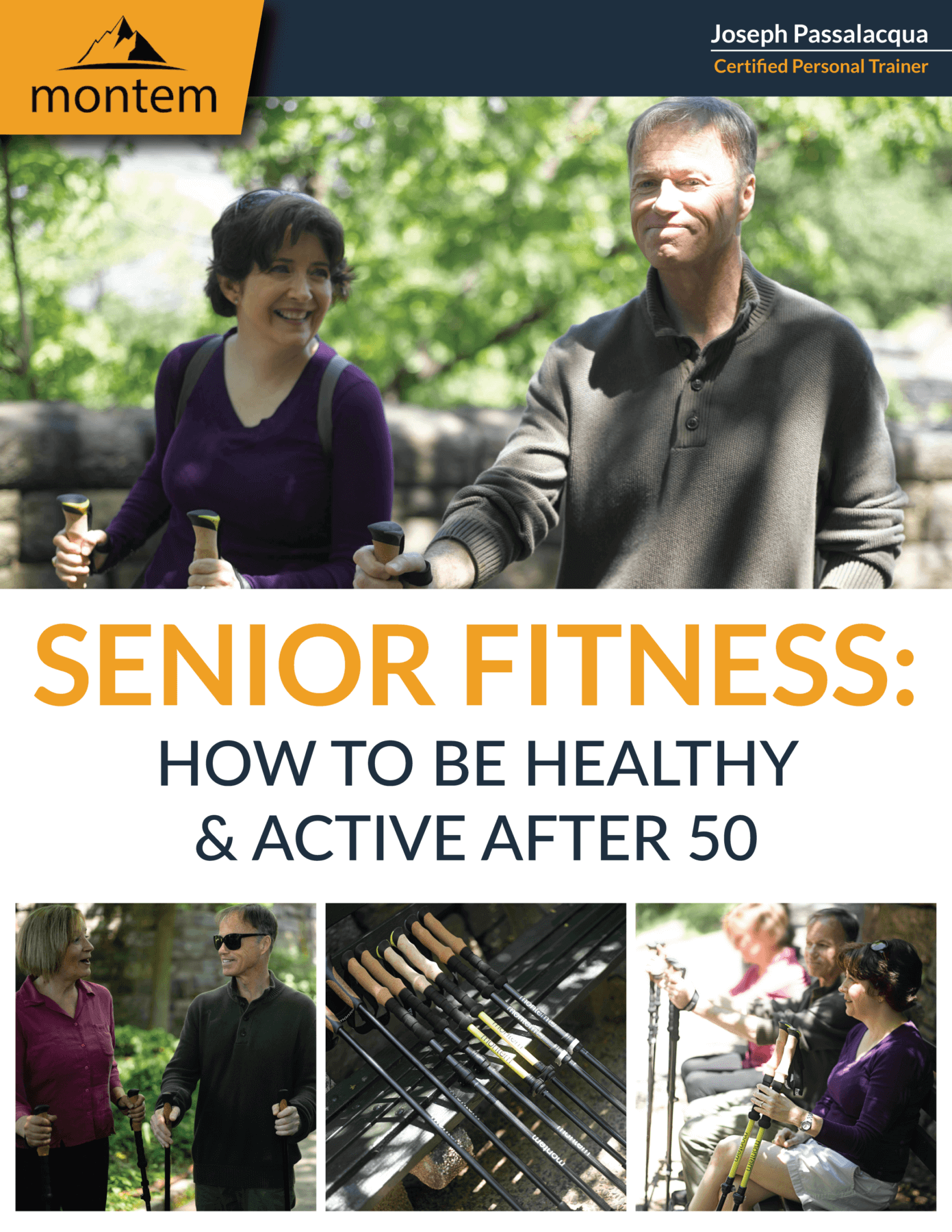 Senior Fitness: How To Be Healthy And Active (Ages 50+) (eBook Download - Printable)